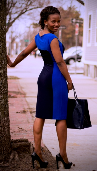 RL Blue Dress