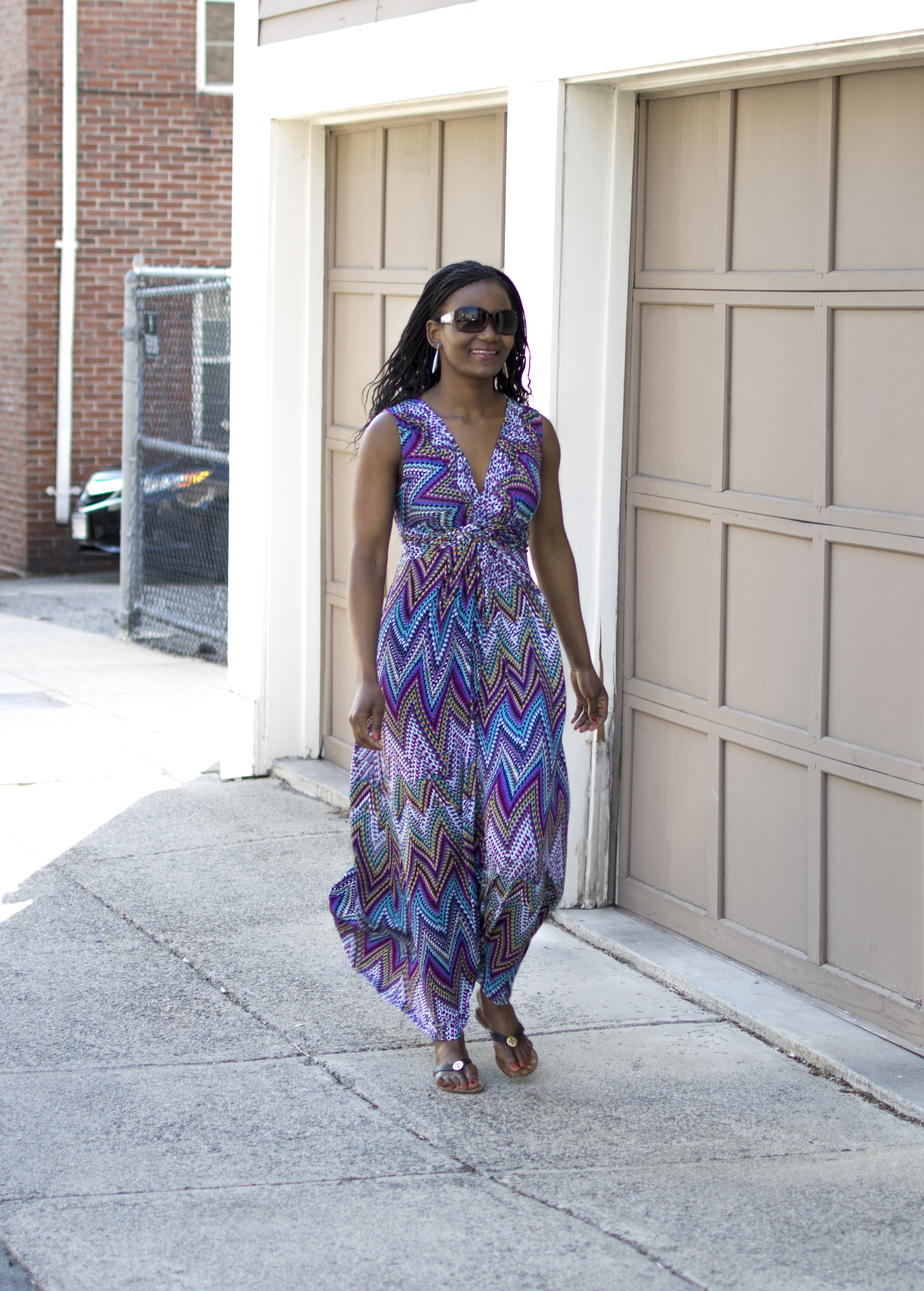Chelsea Theodore Maxi Dress Onstyleaction
